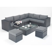 Rattan Set - Prestige Large  Corner Sofa Set WGF-310 - Right Hand