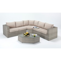 Port Royal Rustic Angle Corner Sofa Set WGF-403