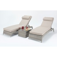 Port Royal Rustic Lounger Pair WGF-416