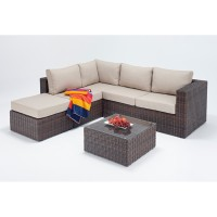 Rattan Set - Windsor Small Corner Sofa Set WGF-2701 - Left Hand