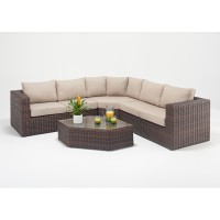 Rattan Set - Windsor Angle Corner Sofa Set WGF-2703