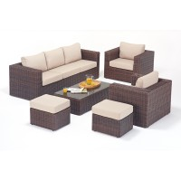 Rattan Set - Windsor Large Sofa Set WGF-2706