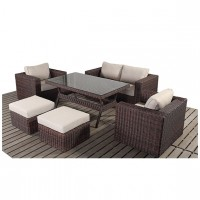 Rattan Set - Windsor Sofa Table Set WGF-2707