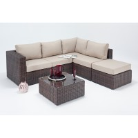 Rattan Set - Windsor Small Corner Sofa Set WGF-2709 - Right Hand
