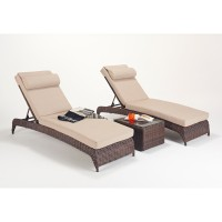 Rattan Set - Windsor Lounger Pair WGF-2716