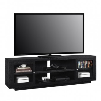 TV Cabinet Black Oak Bailey Widescreen TV Stand 1780096COMUK by Dorel