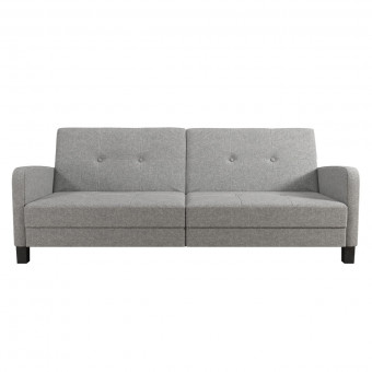 Sofa Bed Grey Boston 3 Seater Sofa 2211429WCUK by Dorel
