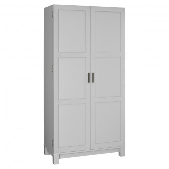 Storage Cabinet Large Grey and Oak Carver 5278196COMUK by Dorel