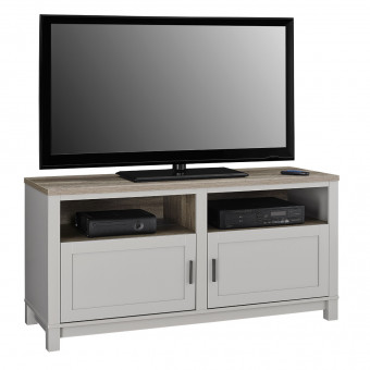 TV Cabinet Grey and Oak Carver TV Stand 1753196COM by Dorel