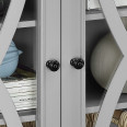 Storage Cabinet Grey Ellington Small 2 Door Cupboard 5042296COM by Dorel