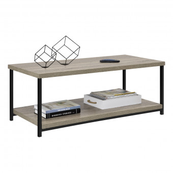 Coffee Table Grey Oak Elmwood 5049096PCOM by Dorel