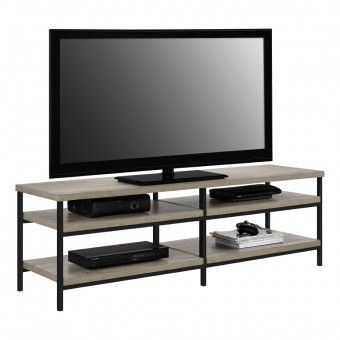 TV Stand Grey Oak Elmwood TV Unit 1763096PCOM by Dorel