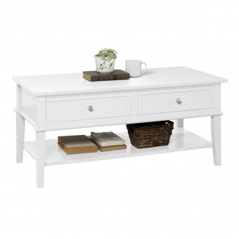 Coffee Table White Franklin 7917013COM by Dorel