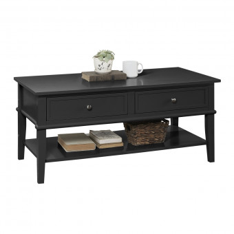 Coffee Table Black Franklin 7917872COM by Dorel