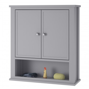 Storage Cabinet Grey Franklin Bathroom Wall Cabinet 7557815COMUK by Dorel
