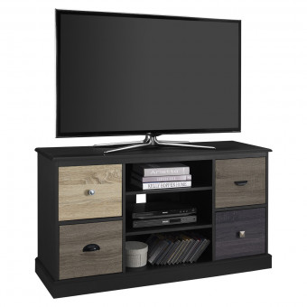 TV Cabinet Black Mercer 4 Door TV Stand 1739196PCOM by Dorel