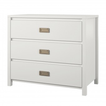 White Chest of Drawers 3 Drawer Monarch Hill Kids Dresser 1642013COMUK by Dorel
