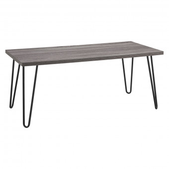 Coffee Table Grey Oak Owen Retro Table 5067096PCOMUK by Dorel