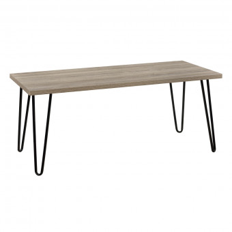 Coffee Table Rustic Oak Owen Retro Table 5067496COMUK by Dorel