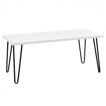 Coffee Table White Owen Retro Table 5011015COMUK by Dorel