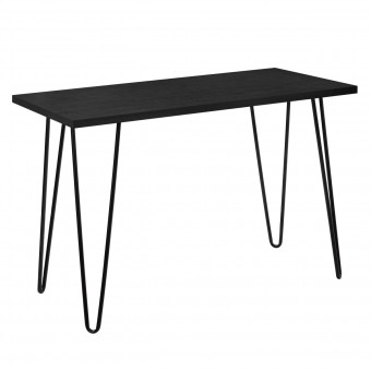 Home Office Desk Black Oak Owen Retro Study Table 9327802COMUK by Dorel