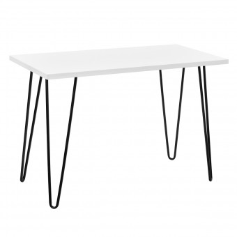 Home Office Desk White Owen Retro Study Table 9327015COMUK by Dorel