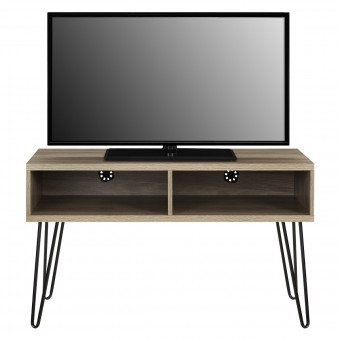 TV Stand Rustic Oak Owen Retro TV Unit 1748496COMUK by Dorel