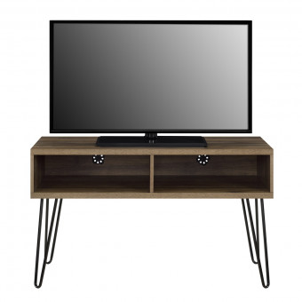 TV Stand Walnut Owen Retro TV Unit 1748396COMUK by Dorel