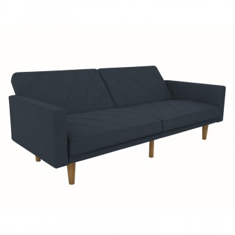 Double Sofa Bed Navy Paxson Two Seater Sofa Bed 2110629UK by Dorel