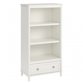 Bookcase Cream Piper Kids Bedroom Storage Cabinet 6857196BRUUK by Dorel