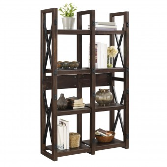 Bookcase Espresso Wildwood Room Divider Bookshelf 9631196COMUK by Dorel