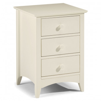 Julian Bowen Cameo 3 Drawer Bedside Chest CAM001-2