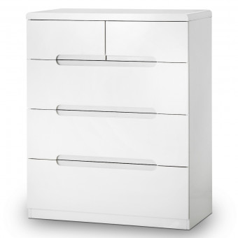 Julian Bowen Manhattan 3+2 Drawer Chest of Drawers MAN203
