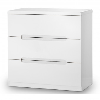 Julian Bowen Manhattan 3 Drawer Chest of Drawers MAN202