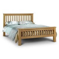 Oak King Size Bed Marlborough HFE 150cm (5ft) AMS002 by Julian Bowen