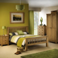 Chest of Drawers - Marlborough Oak 7 Drawer Narrow Chest MAR205