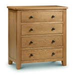 Chest of Drawers - Marlborough Oak 4 Drawer Chest MAR203