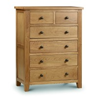 Chest of Drawers - Marlborough Oak 6 Drawer Chest MAR204