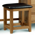Dressing Tables - Marlborough Oak Single Pedestal Dressing Table MAR207