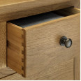 Julian Bowen Marlborough 3 Piece Package - Combination Wardrobe, 4 Drawer Chest and Bedside Cabinet MAR901