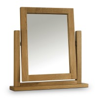 Dressing Table Mirror Marlborough Oak MAR213 by Julian Bowen