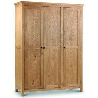 Triple Wardrobe - Marlborough Oak 3 Door Wardrobe MAR210