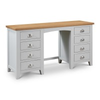 Dressing Tables - Richmond Grey and Oak Dressing Table RIC306