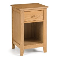 Chest of Drawers - Salerno 1 Drawer Bedside Chest SAL201