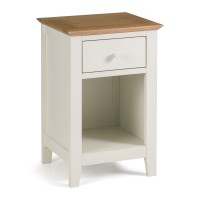 Chest of Drawers - Salerno 1 Drawer Bedside Chest SAL301