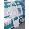 Bunk Bed Campervan in Green and White CAM704 with Two Platinum Mattresses