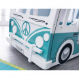 Bunk Bed Campervan in Green and White CAM701 by Julian Bowen