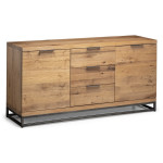 Sideboards - Julian Bowen Brooklyn Oak Sideboard BRO007