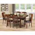 Dining Set - Canterbury Dining Table and 6 Dining Chairs in Mahogany CAN801
