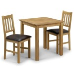 Dining Set - Coxmoor Dining Table and 2 Dining Chairs in Solid Oak COX901